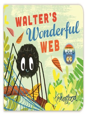 cover image of Walter's Wonderful Web