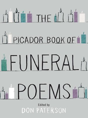 cover image of The Picador Book of Funeral Poems