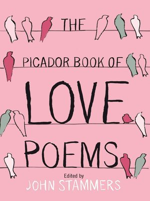 cover image of The Picador Book of Love Poems