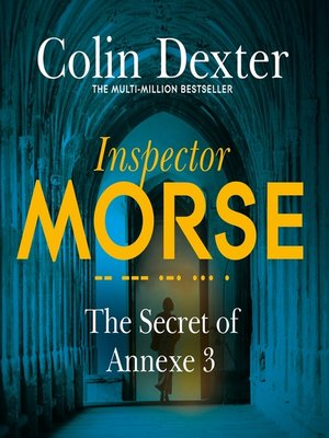 cover image of The Secret of Annexe 3