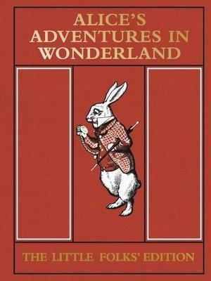cover image of Alice's Adventures in Wonderland
