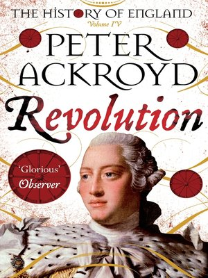 cover image of Revolution, a History of England, Volume 4