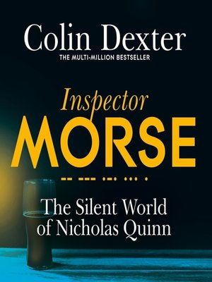 cover image of The Silent World of Nicholas Quinn