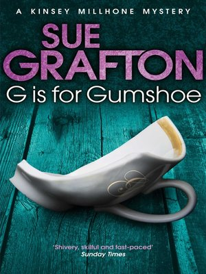 "cover image of ""G"" is for Gumshoe"