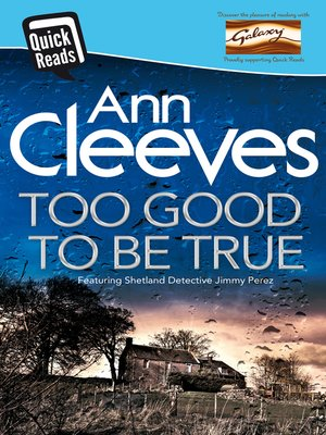 cover image of Too Good to Be True