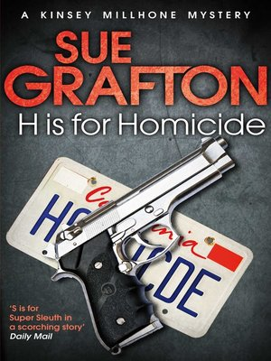 """cover image of """"H"""" is for Homicide"""