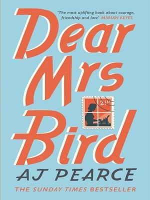 cover image of Dear Mrs Bird
