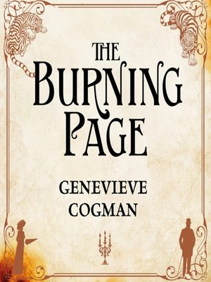 cover image of The Burning Page