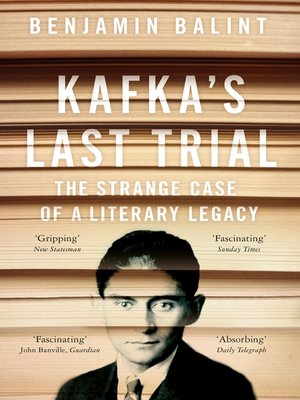 cover image of Kafka's Last Trial