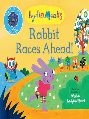 cover image of Rabbit Races Ahead!