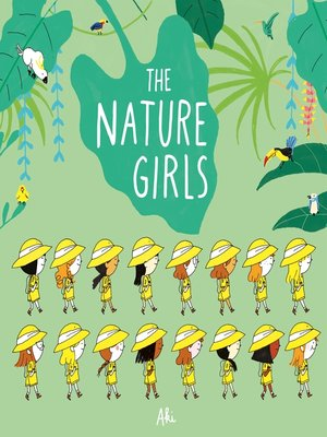 cover image of The Nature Girls