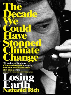 cover image of Losing Earth