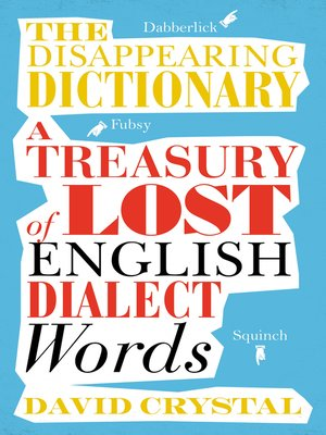 cover image of The Disappearing Dictionary