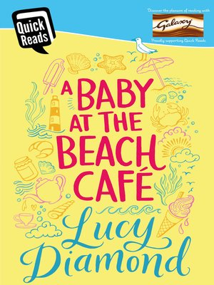 cover image of A Baby at the Beach Cafe