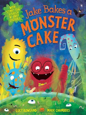 cover image of Jake Bakes a Monster Cake