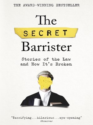 cover image of The Secret Barrister