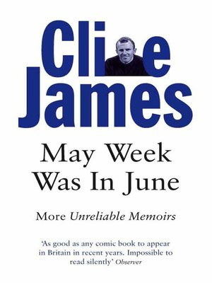 cover image of May Week Was In June