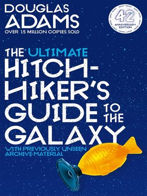 cover image of The Ultimate Hitchhiker's Guide to the Galaxy