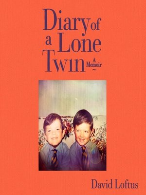 cover image of Diary of a Lone Twin