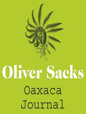 cover image of Oaxaca Journal