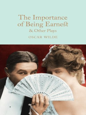 cover image of The Importance of Being Earnest & Other Plays