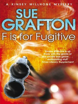 """cover image of """"F"""" is for Fugitive"""