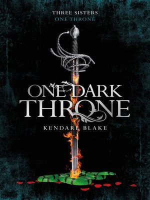 cover image of One Dark Throne