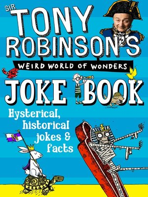 cover image of Sir Tony Robinson's Weird World of Wonders Joke Book