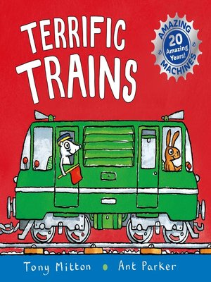 cover image of Terrific Trains