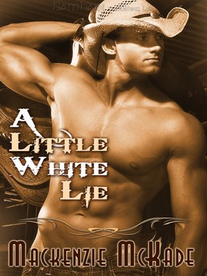 cover image of A Little White Lie