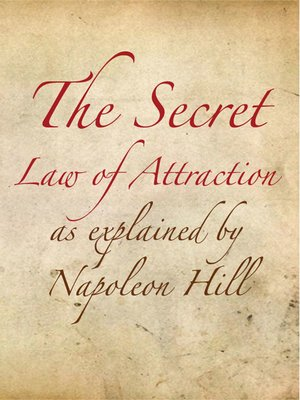 Secret-law Of Attraction Book