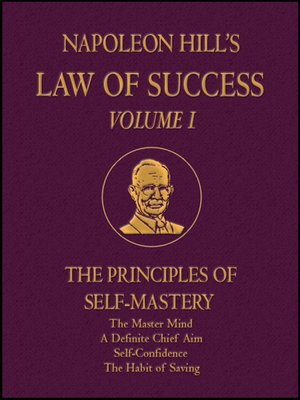 cover image of Law of Success Volume I