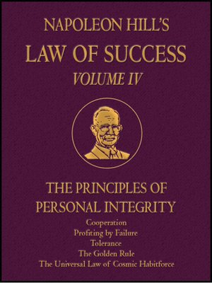 cover image of Law of Success Volume IV