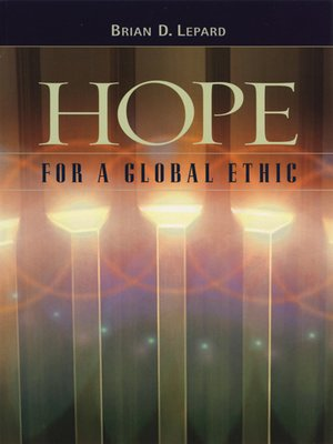 cover image of Hope For A Global Ethic