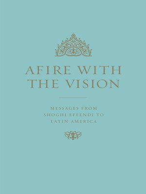 cover image of Afire with the Vision