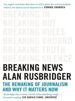cover image of Breaking News