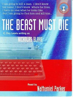 cover image of The Beast Must Die