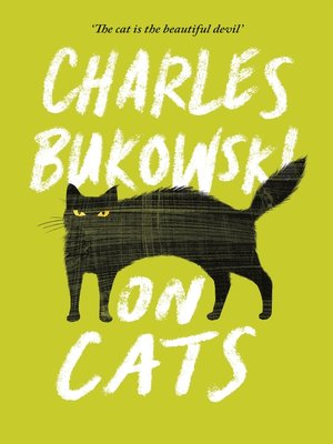 cover image of On Cats