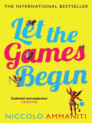 cover image of Let the Games Begin