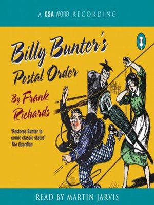cover image of Billy Bunter's Postal Order