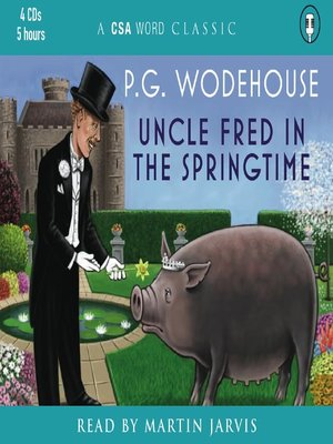 cover image of Uncle Fred in the Springtime