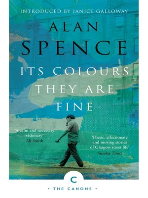 cover image of Its Colours They Are Fine