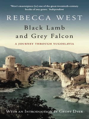 cover image of Black Lamb and Grey Falcon