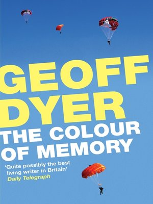 cover image of The Colour of Memory