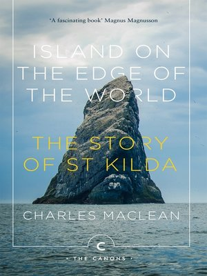cover image of Island on the Edge of the World