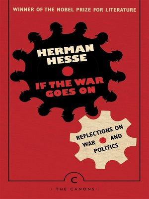 cover image of If the War Goes On . . .