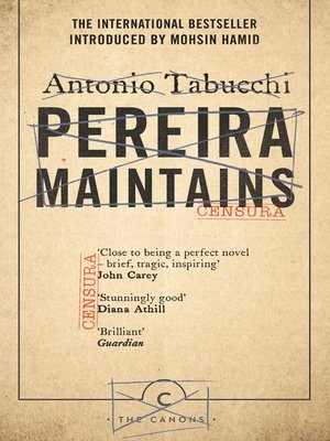 cover image of Pereira Maintains