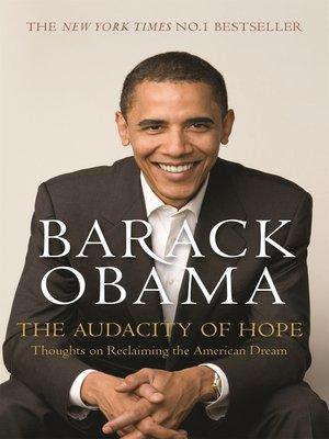Audacity of pdf the hope