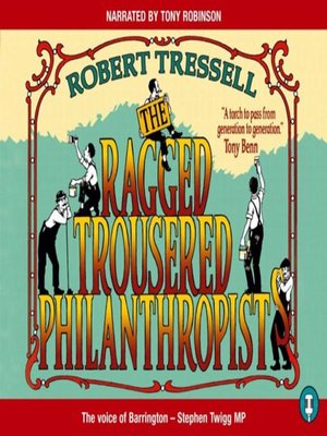 cover image of The Ragged Trousered Philanthropists