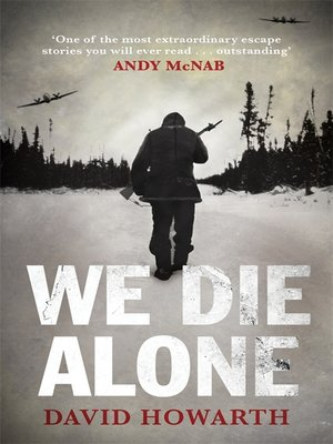 cover image of We Die Alone